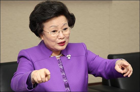이배용 국가브랜드위원회 위원장. ⓒ데일리안 박항구 기자