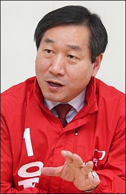 유정복 새누리당 인천시장 예비 후보. ⓒ데일리안 홍효식 기자