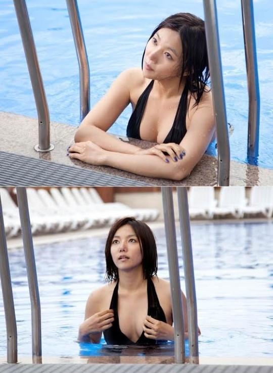 이채영 무보정 수영복 ⓒ 뻐꾸기둥지