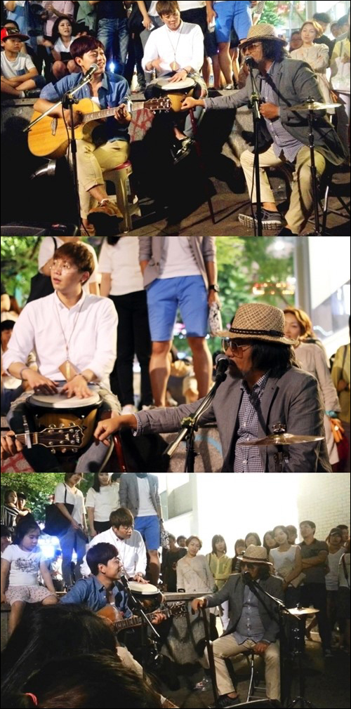 이승철 홍대 버스킹 ⓒ Mnet