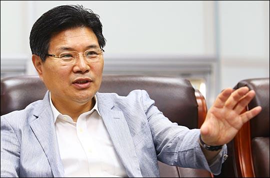 홍문종 새누리당 의원. ⓒ데일리안 홍효식 기자