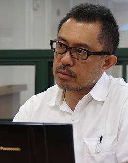 이시마루 지로 아시아프레스 오사카지부 대표.ⓒ북한민주화네트워크 제공