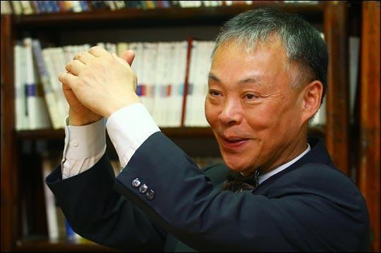 신성대 도서출판 동문선 대표. ⓒ데일리안 홍효식 기자