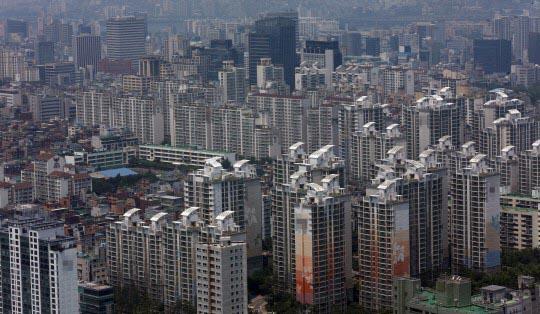 서울시내 아파트 전경(자료사진)ⓒ연합뉴스