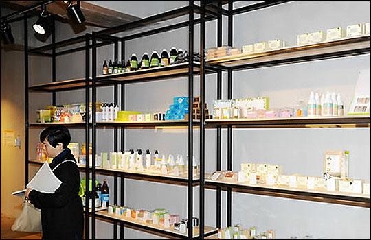 한 지방자치단체의 사회적 기업 제품 복합판매장 모습.(사진은 기사내 특정사실과 무관)ⓒ연합뉴스