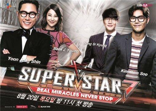 슈퍼스타K7 시즌7 TOP10 생방송 무대가 본격적으로 시작됐다.ⓒ 씨제이이엔엠