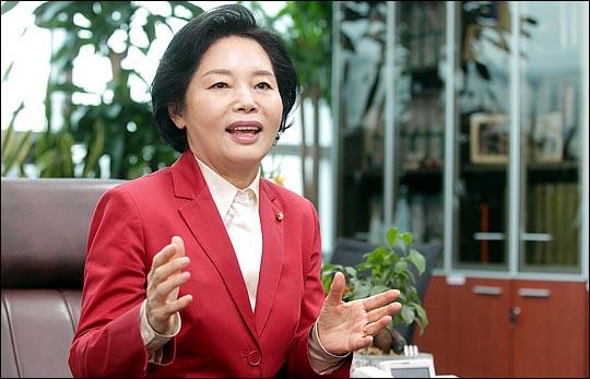 강남 분구 지역에 출마한 이유를 밝히고 있는 류 의원. ⓒ데일리안 박항구 기자