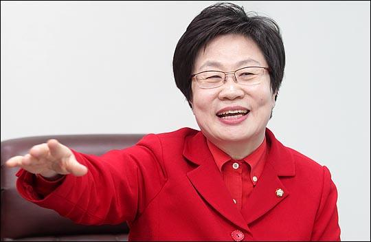 비전을 밝히고 있는 정 의원. ⓒ데일리안 박항구 기자