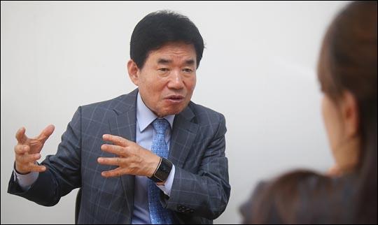김진표(경기 수원시무) 더불어민주당 당선자. ⓒ데일리안 홍효식 기자