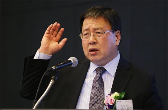 지난 19일 오전 서울 대한상공회의소에서 데일리안이 주최해 열린 2016 글로벌 금융 비전 포럼