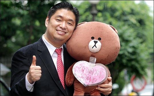 새누리당 8·9 전당대회 청년최고위원 경선에 출마한 이용원 후보. ⓒ데일리안 박항구 기자