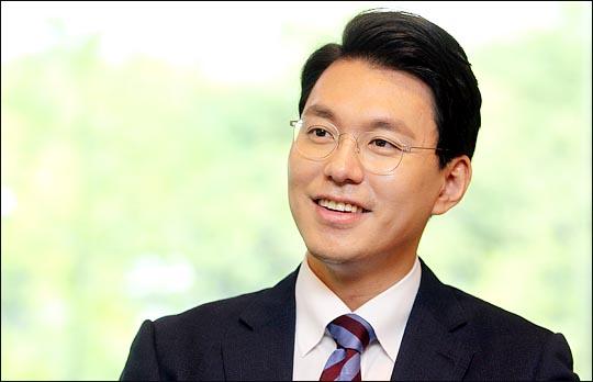 새누리당 8·9 전당대회 청년최고위원 경선에 출마한 유창수 후보. ⓒ데일리안 박항구 기자