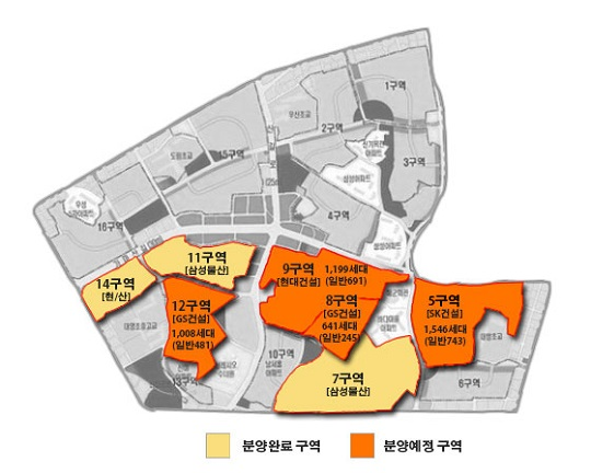 서울 영등포구 신길뉴타운 분양 현황.ⓒ데일리안