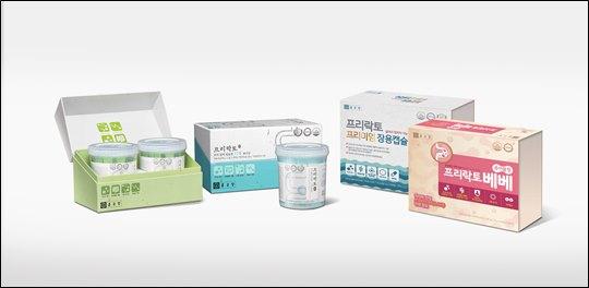 종근당의 프로바이오틱스 건강기능식품 '프리락토 4종'ⓒ종근당