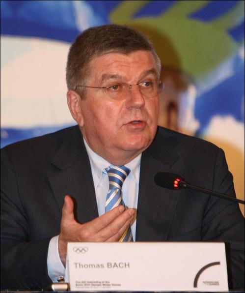 IOC 토마스 바흐 위원장. ⓒ 연합뉴스