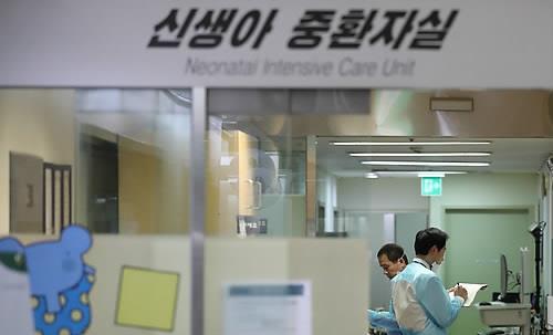 신생아 4명이 사망한 이대목동병원 신생아 중환자실. 국과수는 12일 감영에 의한 사망이라고 밝혔다. ⓒ데일리안
