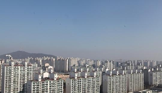 일산의 한 아파트 전경.(자료사진)ⓒ 연합뉴스