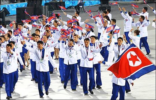 평창 동계올림픽이 한 달여 앞으로 다가온 가운데, 북한의 예술단 파견을 위한 남북 실무회담이 15일 북측 통일각에 서 개최된다.(자료사진) ⓒ데일리안DB