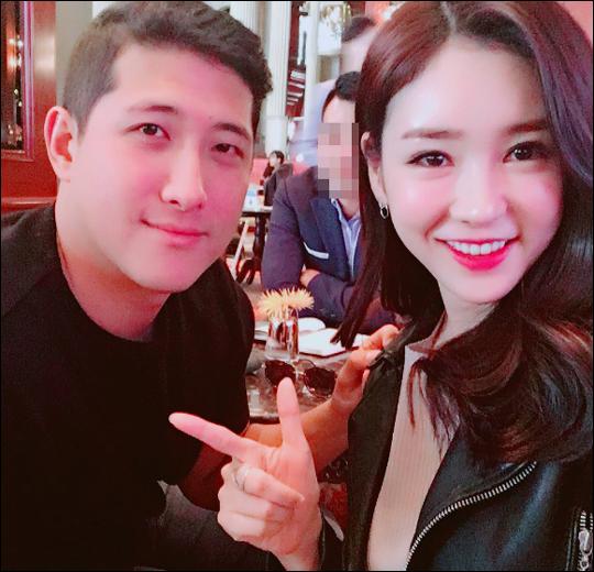 황재균-공서영 아나 ⓒ 공서영 인스타그램