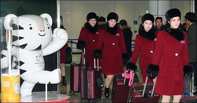 정부가 북한의 평창 동계올림픽 참가 경비 지원을 위해 남북협력기금에서 28억6000만원을 집행하는 방안을 의결했다.(자료사진) ⓒ사진공동취재단