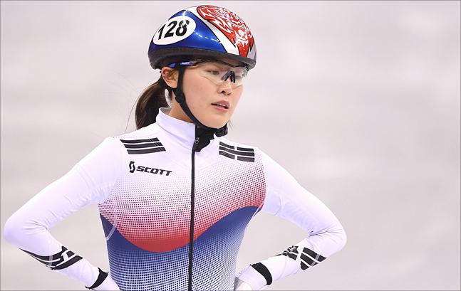 여자 쇼트트랙 대표팀 맏언니 김아랑. ⓒ2018평창사진공동취재단