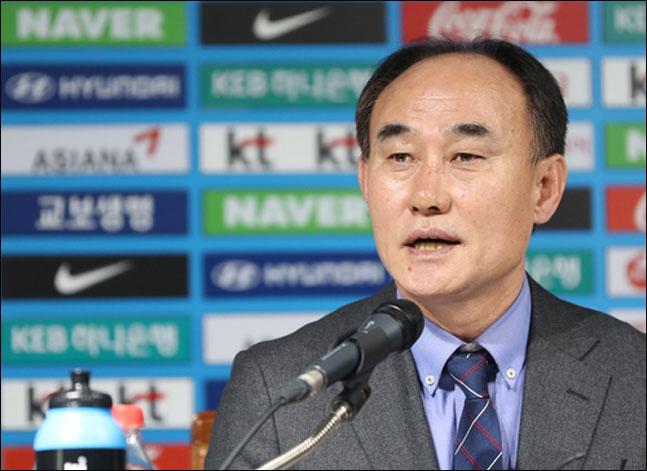 U-23 대표팀 김학범 감독. ⓒ 연합뉴스