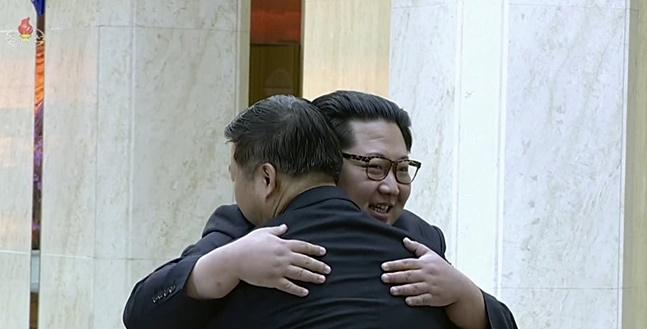 북한이 체제안전보장을 비핵화 목표로 내세우고 있는 만큼 미국으로부터 보장 받을 비핵화 대가를 주요하게 다뤘을 것으로 풀이된다.(자료사진) ⓒ연합뉴스