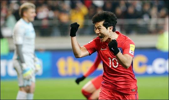 아시아 챔피언스리그서 첫 골을 신고한 남태희. ⓒ 데일리안 박항구 기자