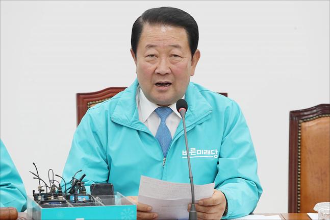 박주선 바른미래당 공동대표가 23일 오전 국회에서 열린 바른미래당 최고위원회의에서 발언을 하고 있다. (자료사진)ⓒ데일리안 홍금표 기자