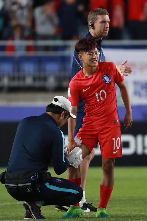 이승우가 부상으로 조기 귀국한다.(자료사진)ⓒ 데일리안 홍금표 기자