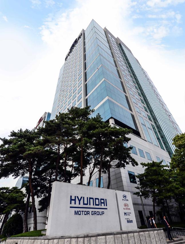 서울 양재동 현대차그룹 본사 전경.ⓒ현대차그룹