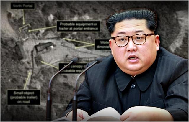 북한이 24일 해외 기자단이 참관한 가운데 함경북도 길주군 풍계리 핵실험장의 갱도를 폭파해 폐기했다. 북한 당국이 핵실험장 폐기를 공언한 지 한 달 여 만이다.(자료사진) ⓒ데일리안