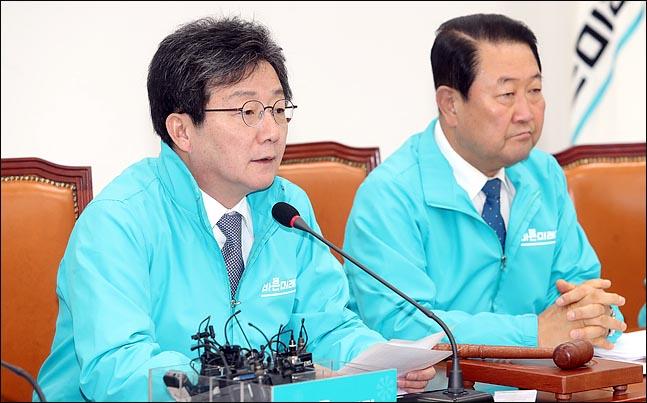 유승민 바른미래당 공동대표가 25일 오전 국회에서 열린 최고위원회의에서 모두발언을 하고 있다. ⓒ데일리안 박항구 기자
