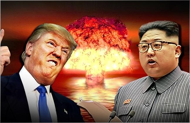 미 트럼프(왼쪽) 대통령과 북한 김정은 국무위원장 ⓒ데일리안