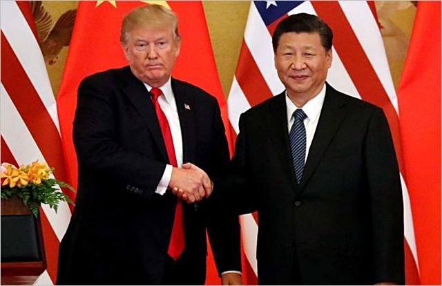 도널드 트럼프 미국 대통령과 시진핑 중국 국가주석. ⓒABC뉴스