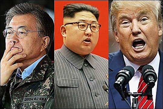 문재인 대통령이 27일 전날 열린 2차 남북정상회담 결과를 발표했다. 북미 관계가 다시 순항할지 주목된다. ⓒ데일리안