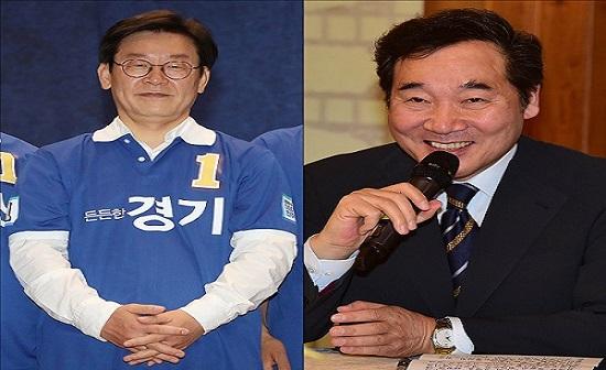 차기 정치 지도자로 이재명 전 성남시장과 이낙연 국무총리가 선두권을 달리는 것으로 조사됐다. ⓒ데일리안