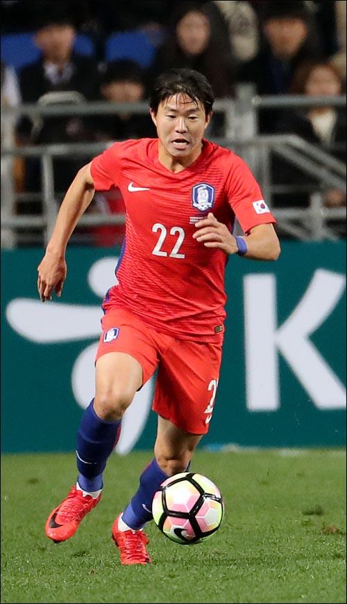 올 시즌 프랑스리그서 11골을 터트렸지만 부상으로 월드컵에 가지 못하는 권창훈. ⓒ 데일리안 박항구 기자
