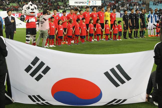 한국 축구는 9회 연속 월드컵 무대에 나서고 있다. ⓒ 데일리안 홍금표 기자