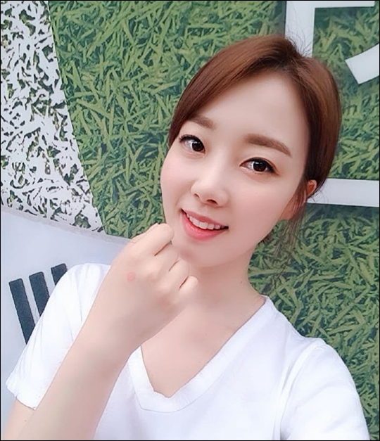 윤다영이 투표 인증샷을 공개했다. ⓒ 윤다영 SNS
