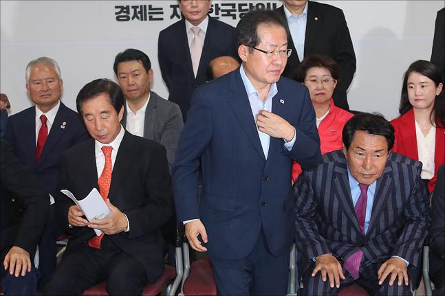 홍준표 자유한국당 대표. ⓒ데일리안 홍금표 기자