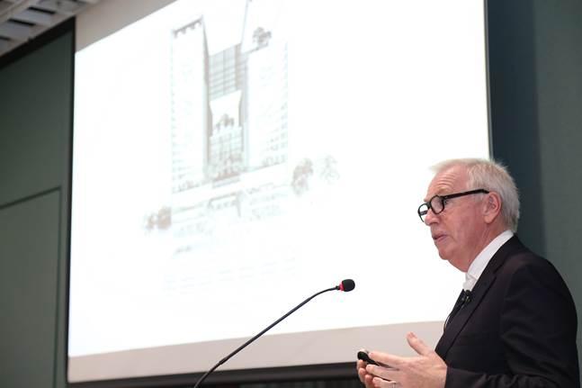 아모레퍼시픽그룹 신사옥 설계자인 데이비드 치퍼필드. ⓒ아모레퍼시픽