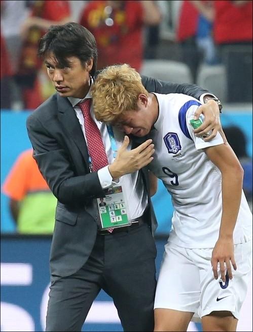 한국의 희망고문은 4년 전 브라질 월드컵과도 흡사하다.  ⓒ 연합뉴스