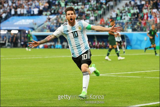 메시의 아르헨티나가 16강전에서 프랑스와 만난다. ⓒ 게티이미지