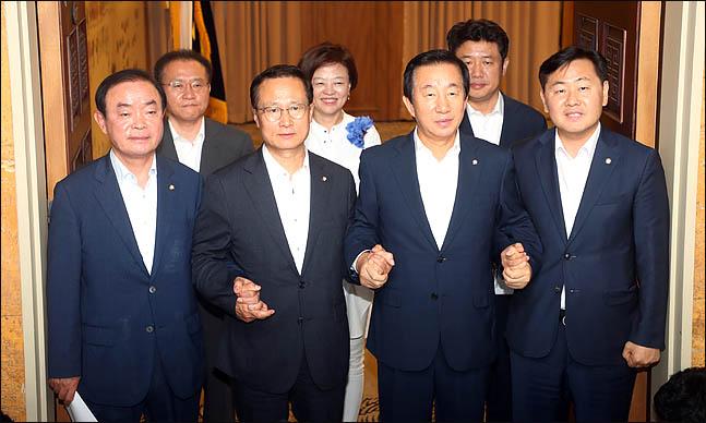 여야 4당 원내대표 ⓒ데일리안 박항구 기자