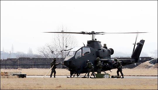 한미 연합군사훈련인 을지프리덤가디언(UFG) 연습 모습 ⓒ사진공동취재단