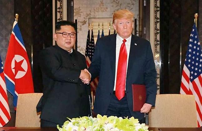 북미가 미군 전사자 유해 송환과 발굴 작업을 재개하기로 합의하면서 북한과 적대 상태를 종결하는 종전선언을 견인할 수 있을지 주목된다.(자료사진) ⓒ연합뉴스