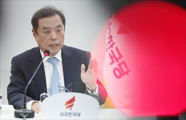 김병준 자유한국당 혁신비대위원장 ⓒ데일리안 홍금표 기자