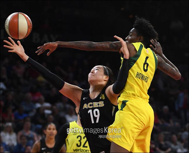 WNBA 박지수 ⓒ 게티이미지