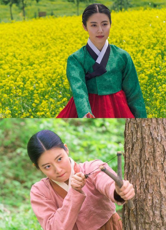 tvN '백일의 낭군님'이 조선 최고령 원녀로 완벽 변신한 남지현의 스틸컷을 첫 공개했다.ⓒ tvN